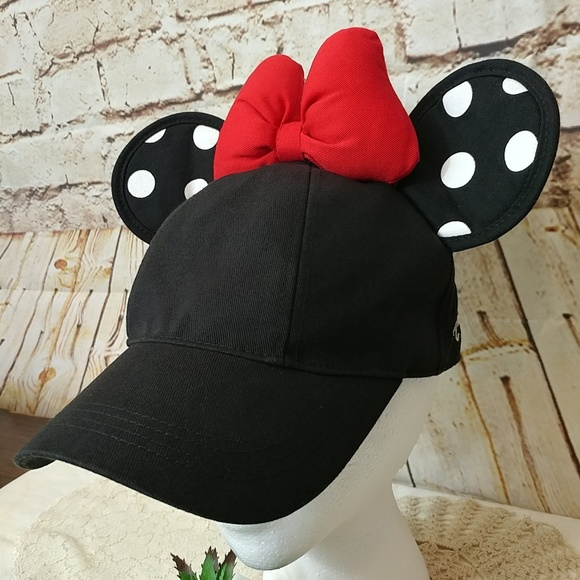 2c087fedf Woman's Minnie Mouse Polka Dot Ears & Bow Hat